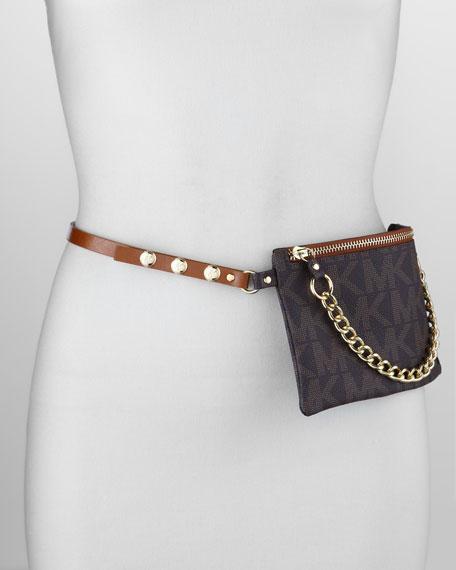 Belted Monogram Bag