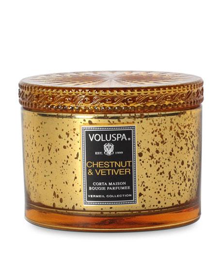 Chestnut & Vetiver Candle, 11 oz