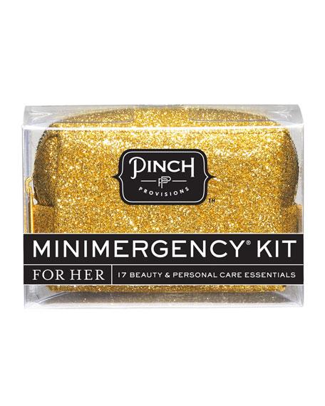 Minimergency Kit For Her, Gold