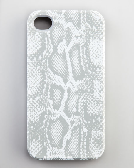 Python-Print iPhone Case, Gray