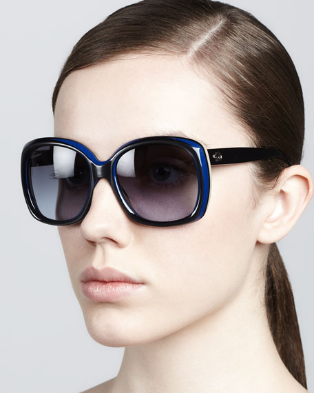 Rounded-Square Sunglasses