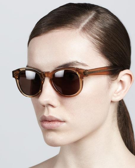 Murdoch II Round Sunglasses