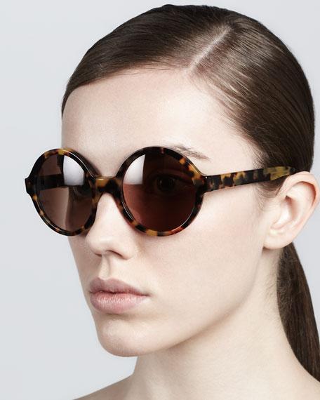Sophia Round Sunglasses