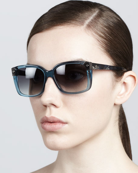 Clear-Frame Sunglasses