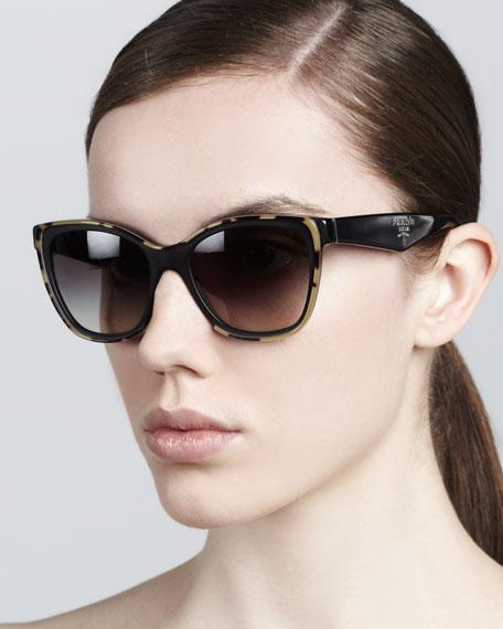 Oversize Plastic Sunglasses