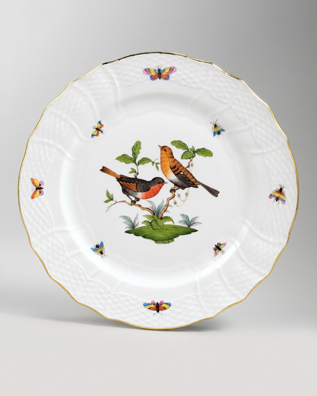 Rothschild Bird Service Plate #9