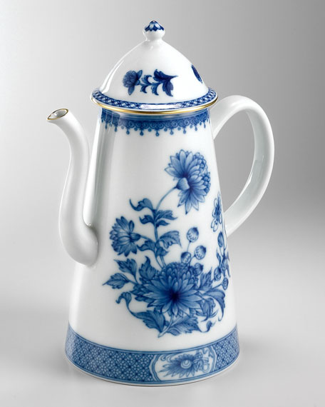 Imperial Blue Coffee Pot