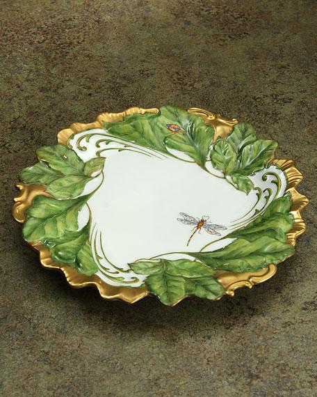 Ivy Garland Plate