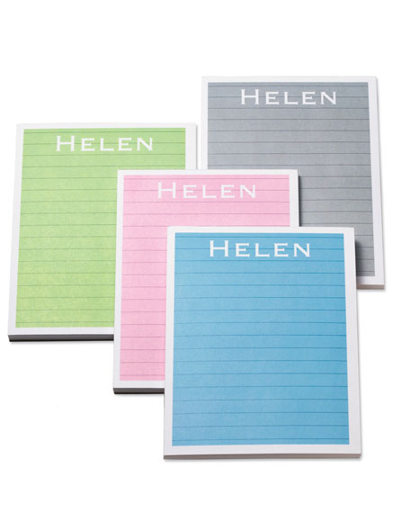 Four Color Note Pads