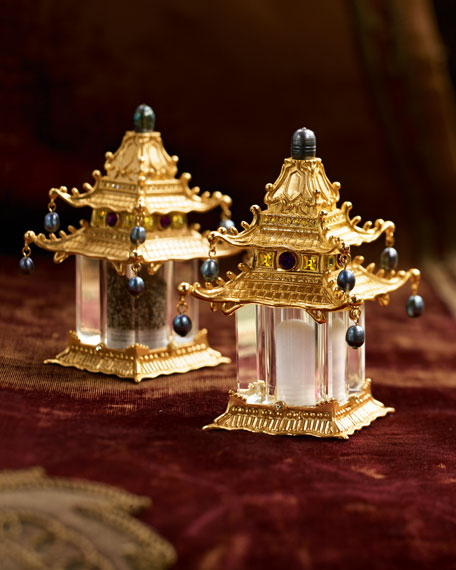Pagoda Salt & Pepper Set