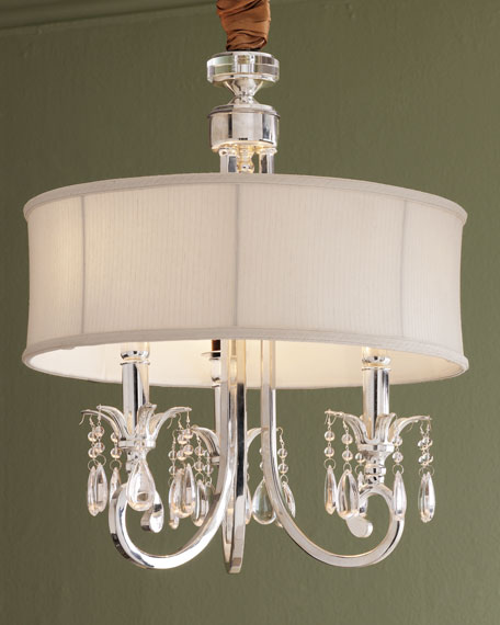Silver-Plated Chandelier
