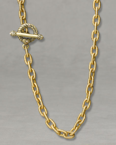 """""""Jeanne"""" Necklace, 17"""""""