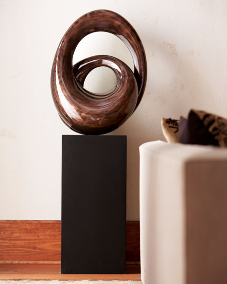 Double-Loop Sculpture & Stand