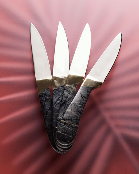 Santa Fe Stoneworks Four-Piece Steak Knife Set