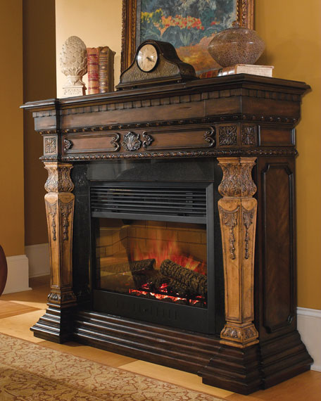 Quot St Andrews Quot Electric Fireplace