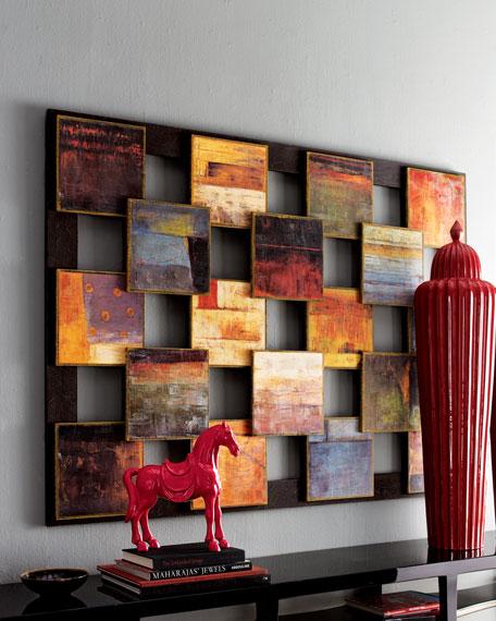 """Blocks"" Abstract Art"