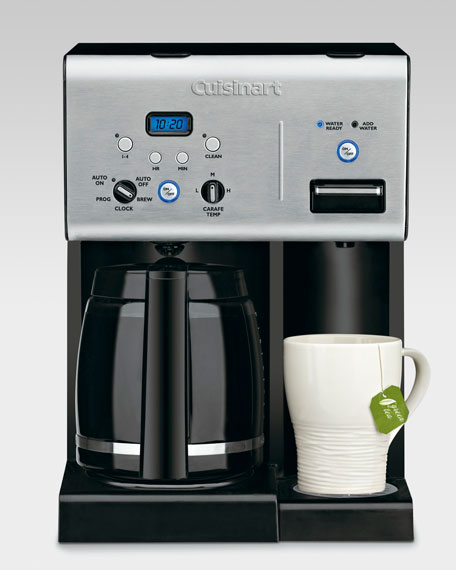 Coffee Maker with Hot Water System