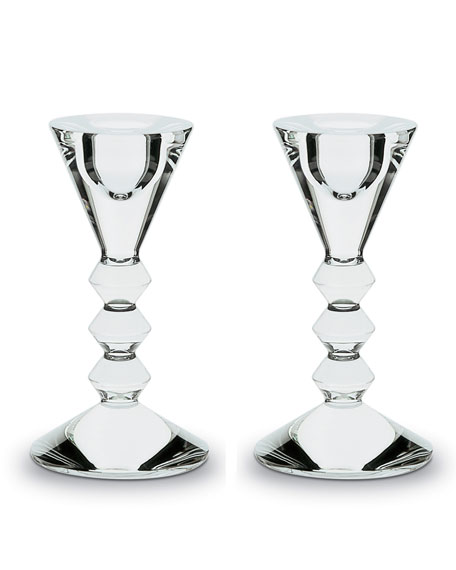 Vega Candleholders, Set of Two