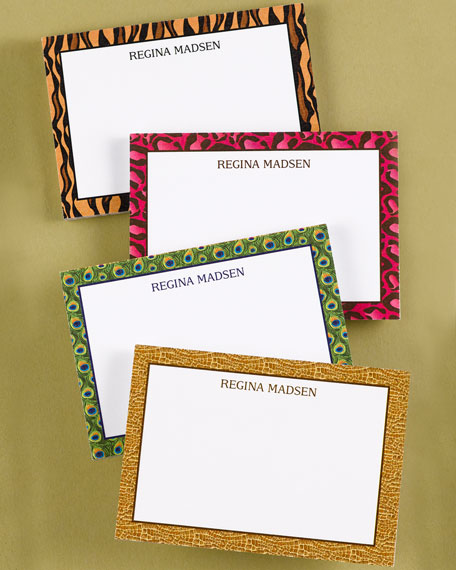 12 Animal-Print Post-it Note Pads