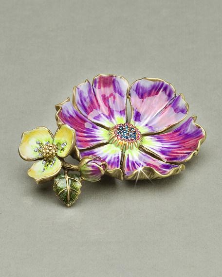 """""""Maya"""" Flower Trinket Tray"""