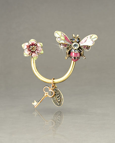 """""""Rosa"""" Bee Key Ring"""