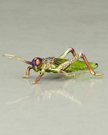 """Alejandro"" Grasshopper Figurine"