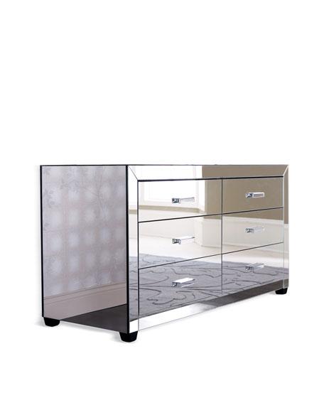 """""""Clairmonte"""" Mirrored Dresser"""