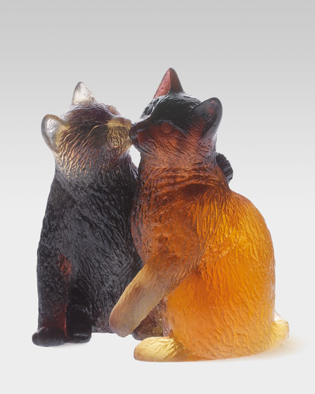 Pair of Kittens Figure