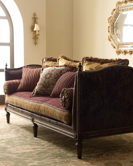 Michael Leather Sofa