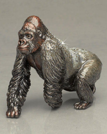 """Kong"" Silverback Gorilla Figure"