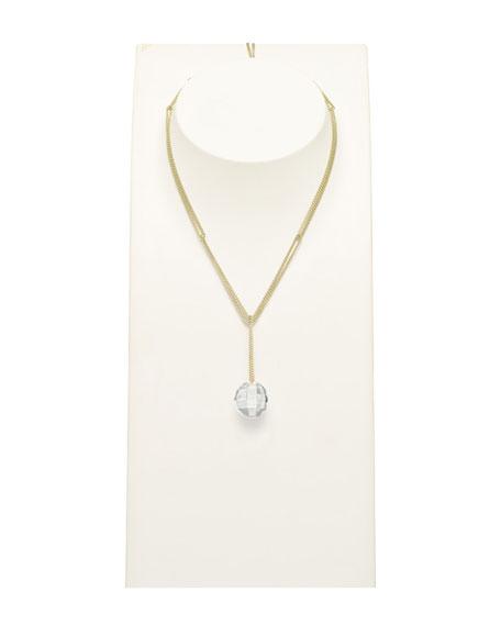Facettes Short Silver Necklace