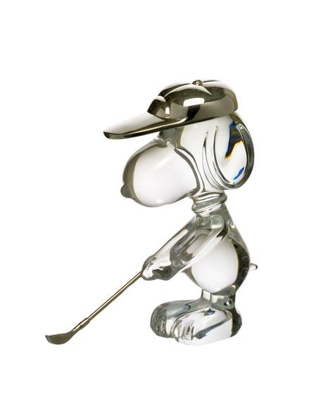 Golfing Snoopy Figure