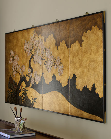 Asian wall panel for Asian wall decoration