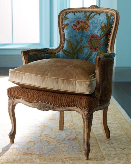 """""""Darra"""" Teal Chair"""