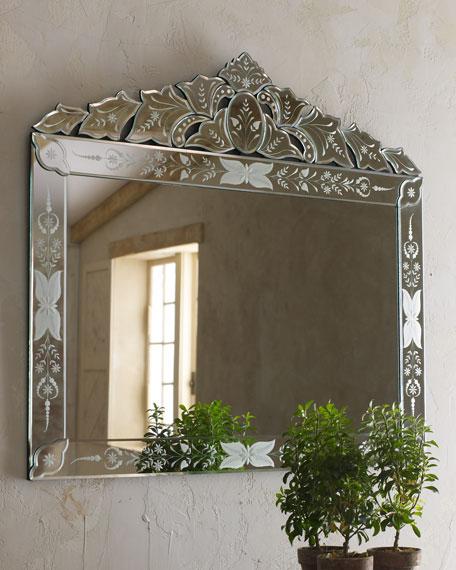 """Portinari"" Venetian-Style Mirror"