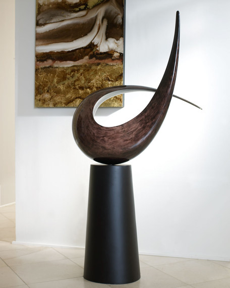 Contemporary Sculpture on Base