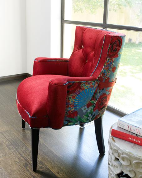 """Lipstick Rose"" Chair"
