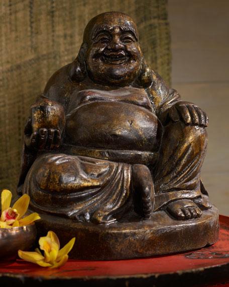 Jovial Sitting Buddha