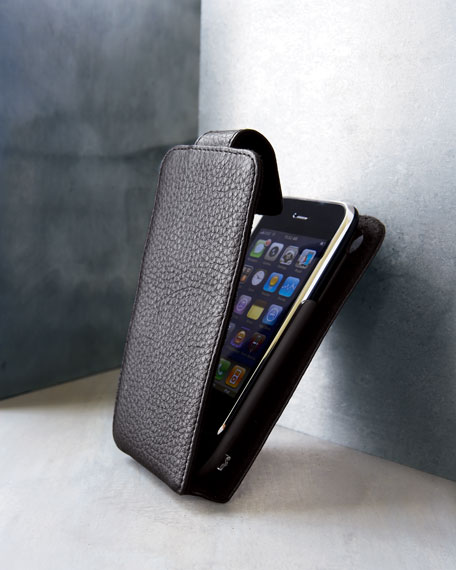 Leather iPhone Power Case