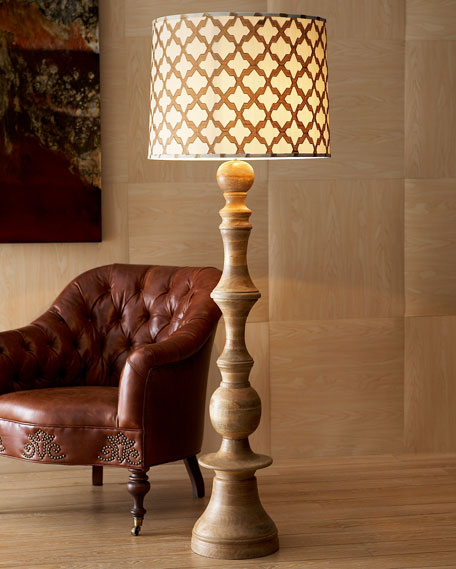 """Natural"" Floor Lamp"