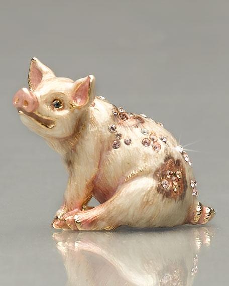 Mini Pig Figurine