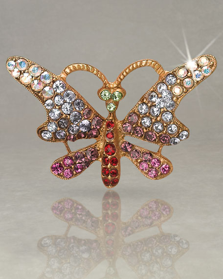 """Sharona"" Butterfly Tack Pin"
