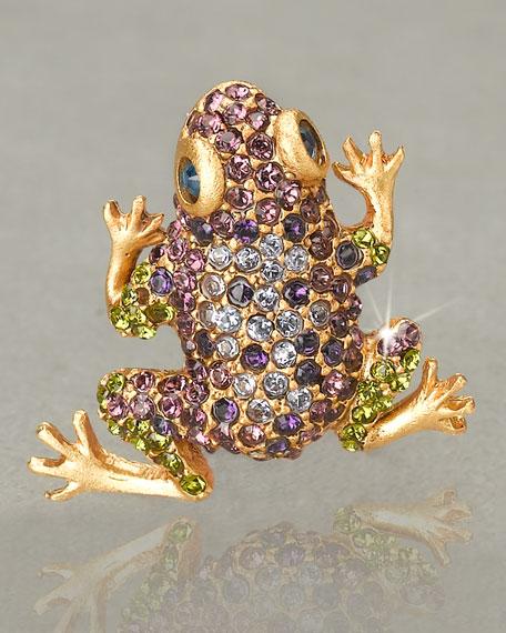 """""""Libbie"""" Frog Tack Pin"""