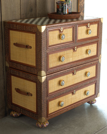 """""""Courtly Campaign"""" Captain's Chest"""