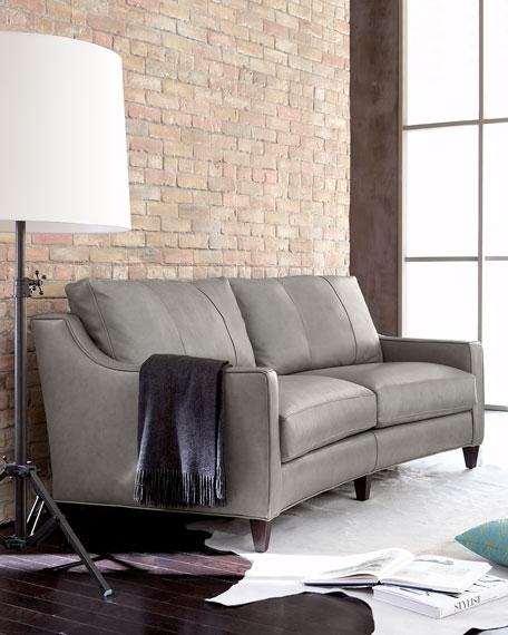 """""""Fern"""" Leather Sofa"""