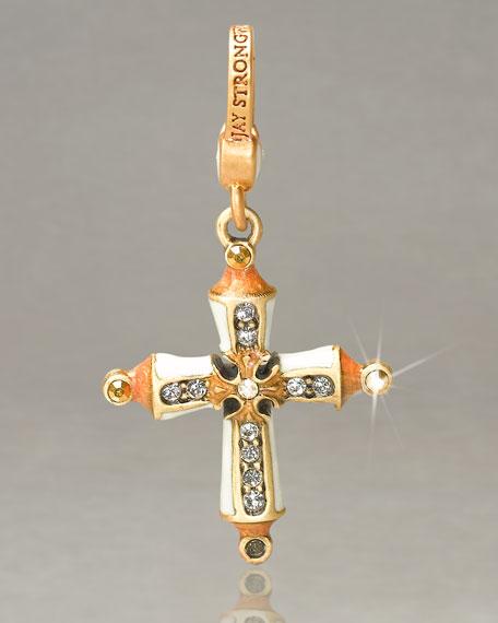 """Gabriel"" Cross Charm"