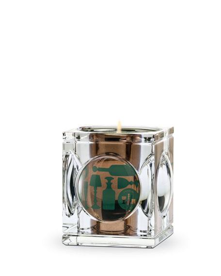 Geode Jar & Secrets du Vert Candle