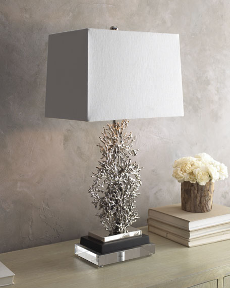 """Coral"" Table Lamp"