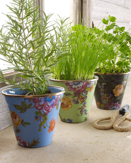 Flower Market Mini Flowerpots