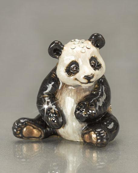 """Tai Shan"" Panda Mini Figurine"